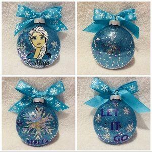 NWT custom Christmas ornaments
